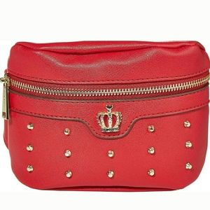 """Juicy Couture """" Belt on Tour"""" Red Fanny Pa…"""